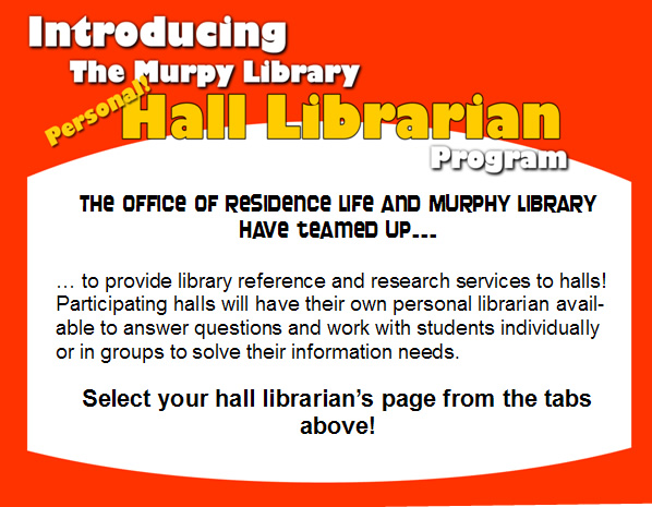 Your Personal Hall Librarians
