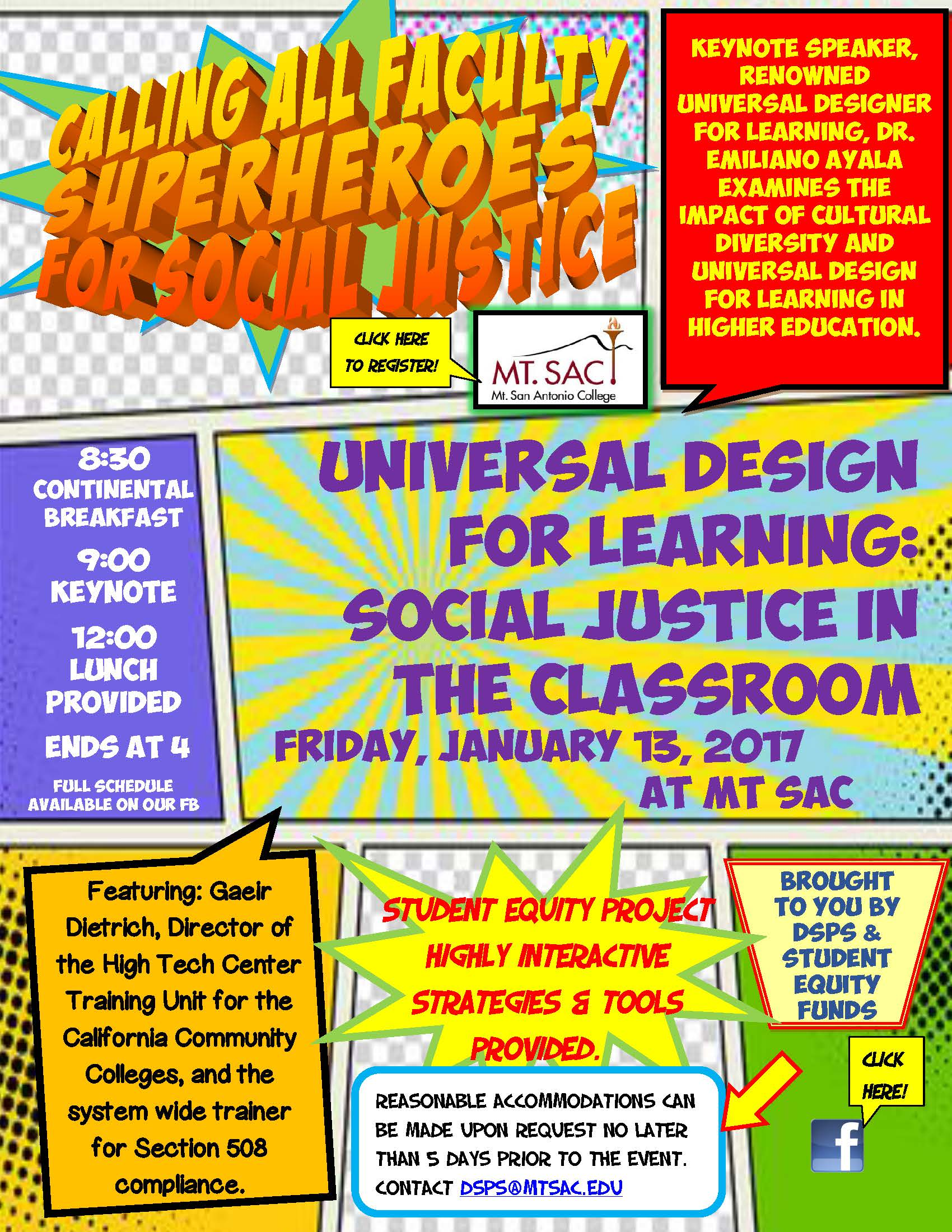 UDL Symposium Flyer
