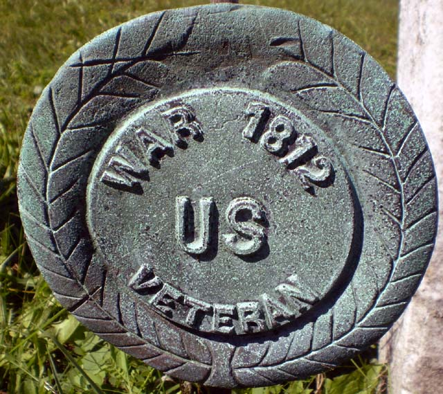 War of 1812 Veteran marker