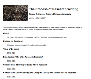 Process of Research Writing