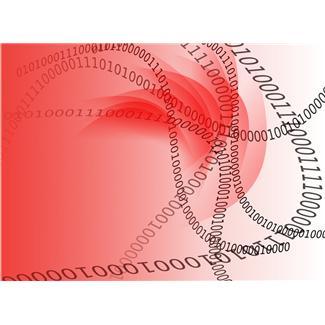 binary code imagery