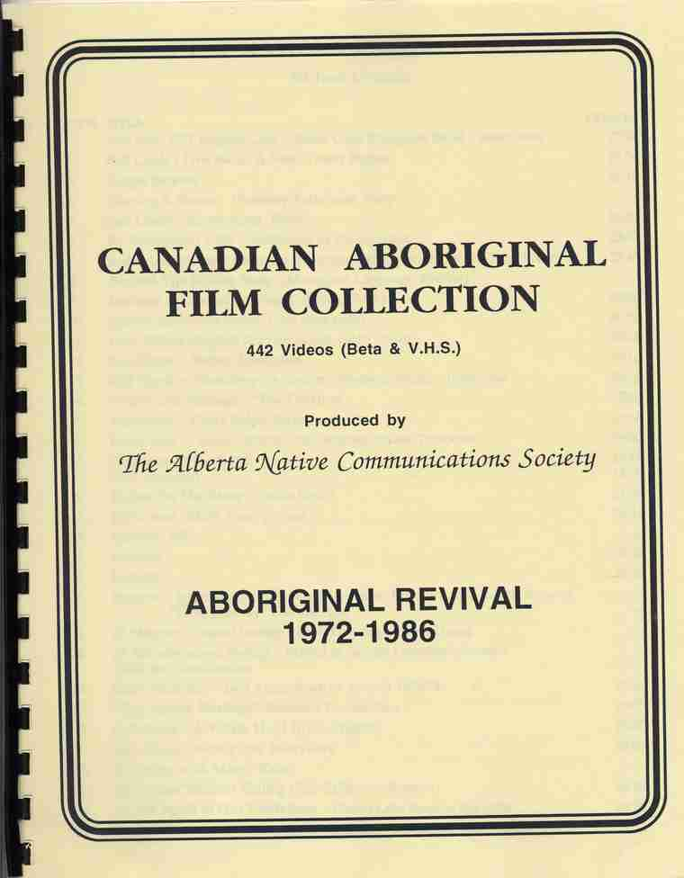 ANCS Film Collection