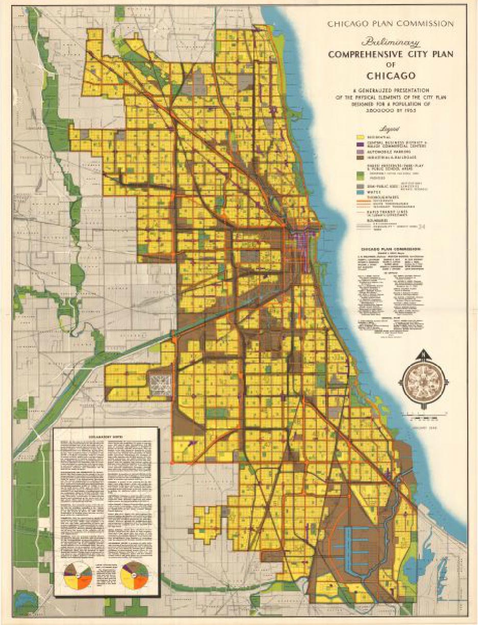 Preliminary comprehensive city plan of Chicago