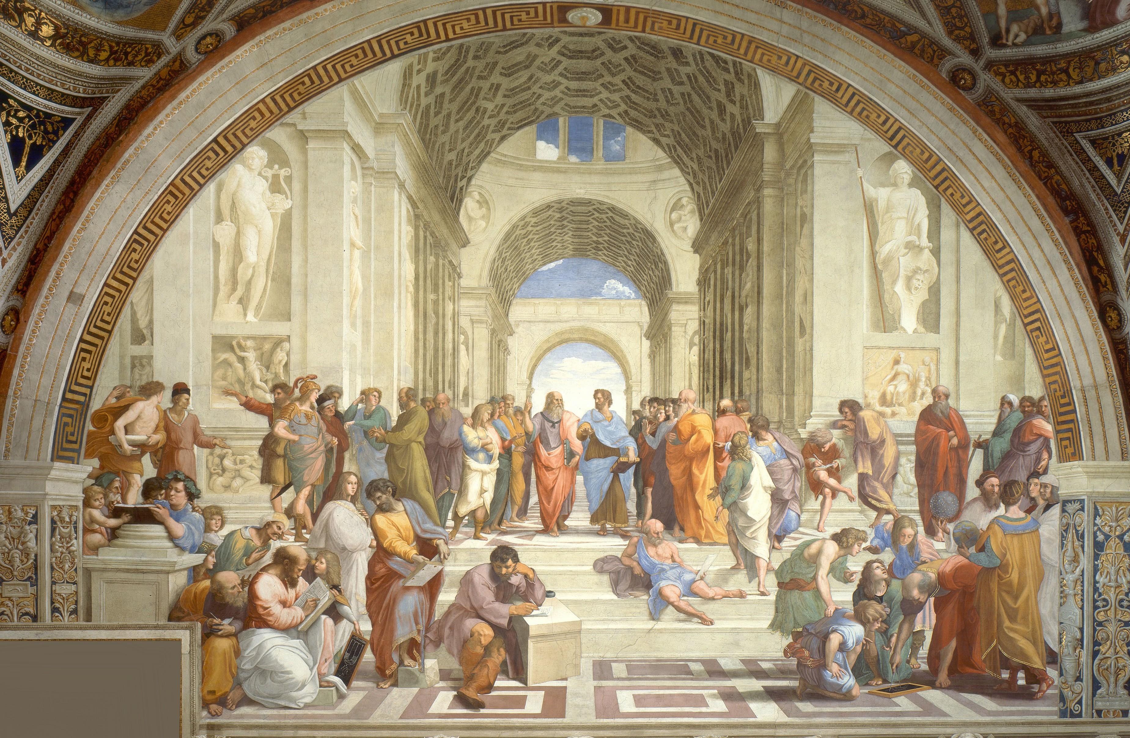School of Athens_Raphael_Wikimedia