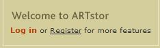 artstor register