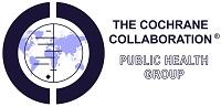 Cochrane logo - world map with plot lines