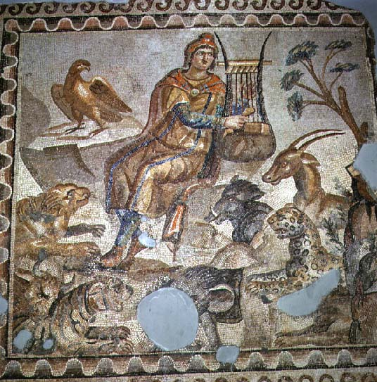 roman mosaic, from Credo Reference