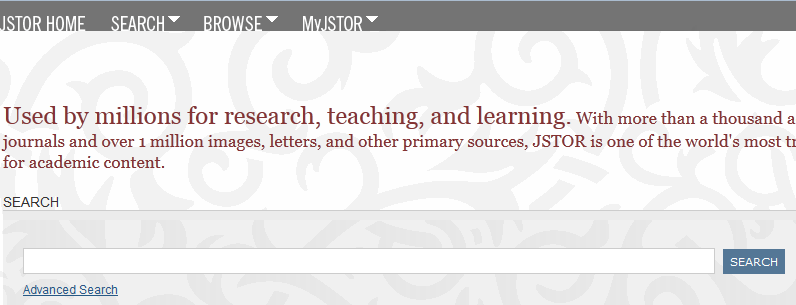 Search JSTOR