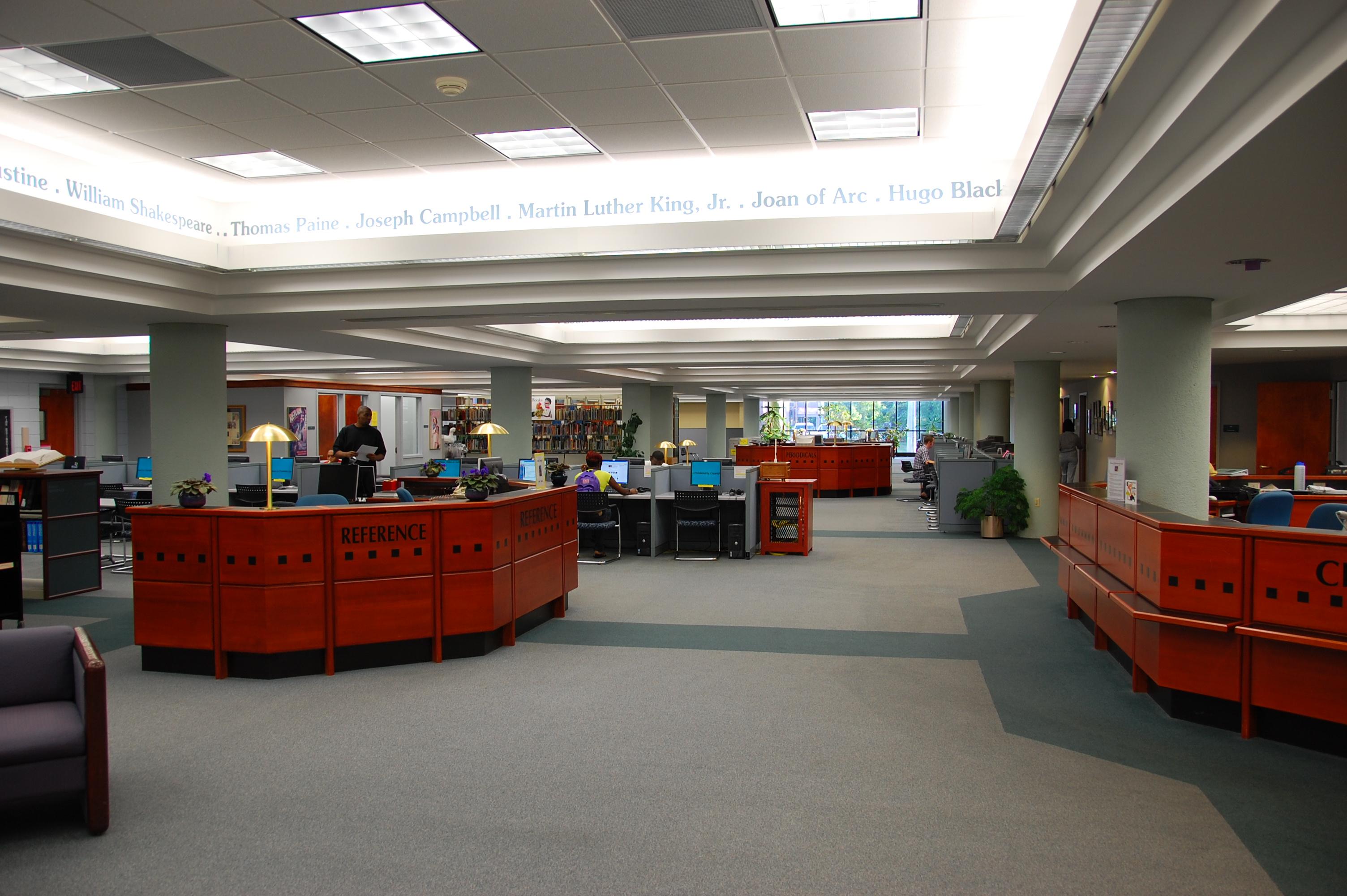 2009 library interior