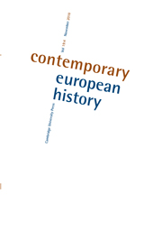 Contemporary European History journal