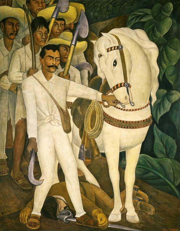 Diego Rivera, Agrarian Leader Zapata