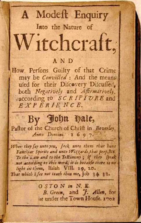 Salem Witch Trials Document