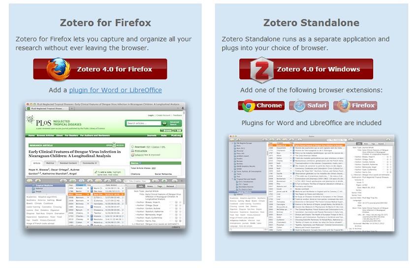 Zotero for Firefox