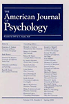 American Journal of Psychology cover