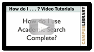 Ebsco - Academic Search Complete tutorial