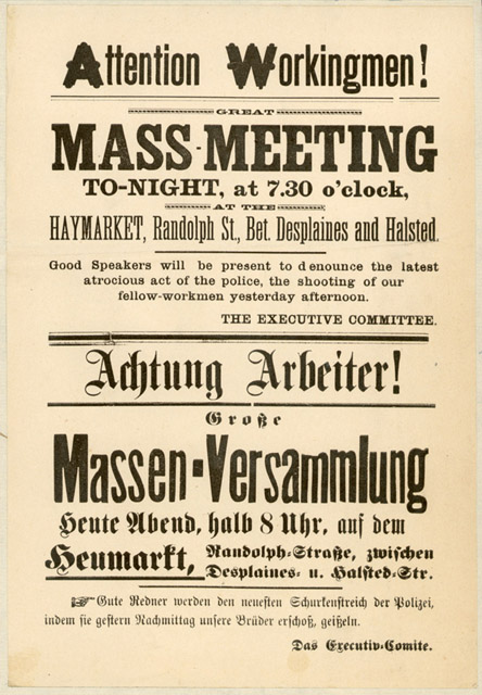 Haymarket Flyer