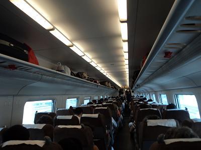 High-speed rail train_interior