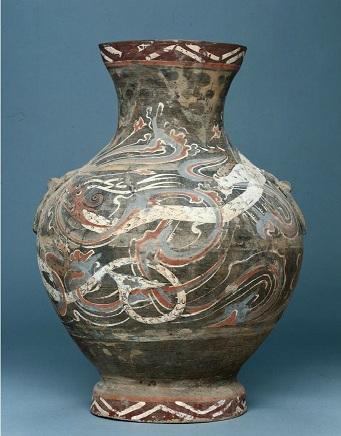 Hu (jar) China, Middle or Late Western Han Dynasty