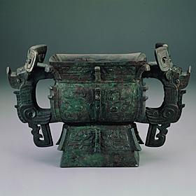 Ya-chou Square Kuei Late Shang Dynasty (1600-1046 BC) National Palace Museum (Taiwan)