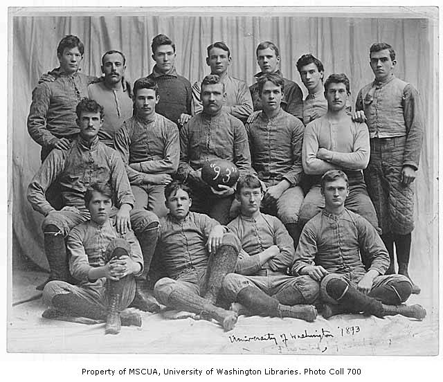 Football team, University of Washington, 1893