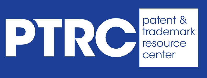 Patent and trademark resource center ptrc logo