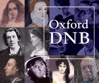 Logo: Oxford National Biography