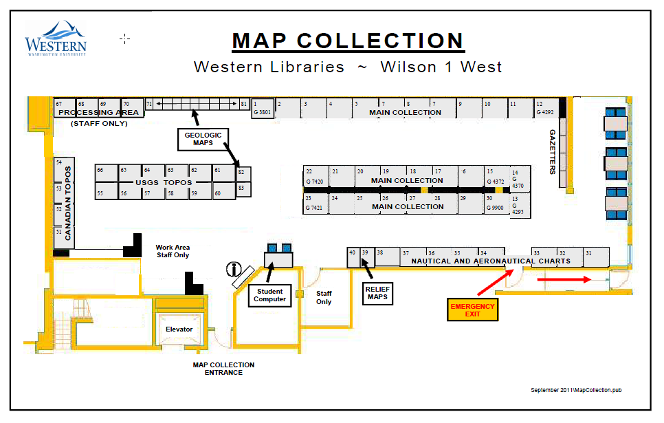 Map of the Collection