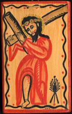 RU 762 / Cristo Cargado con la Cruz / James Cordova / 1992