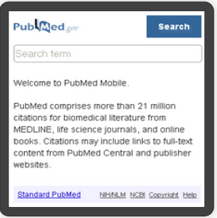 PubMed Mobile