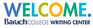 Baruch College Writing Center logo