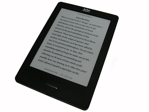 kobo ereader photo