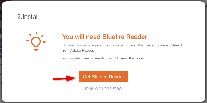 get bluefire reader for mobile devices