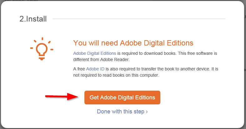 get adobe digital editions software