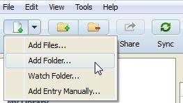 PDF import to Mendeley from hard drive