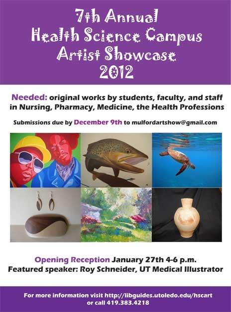 2012 art show poster