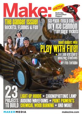 Make magazine cover