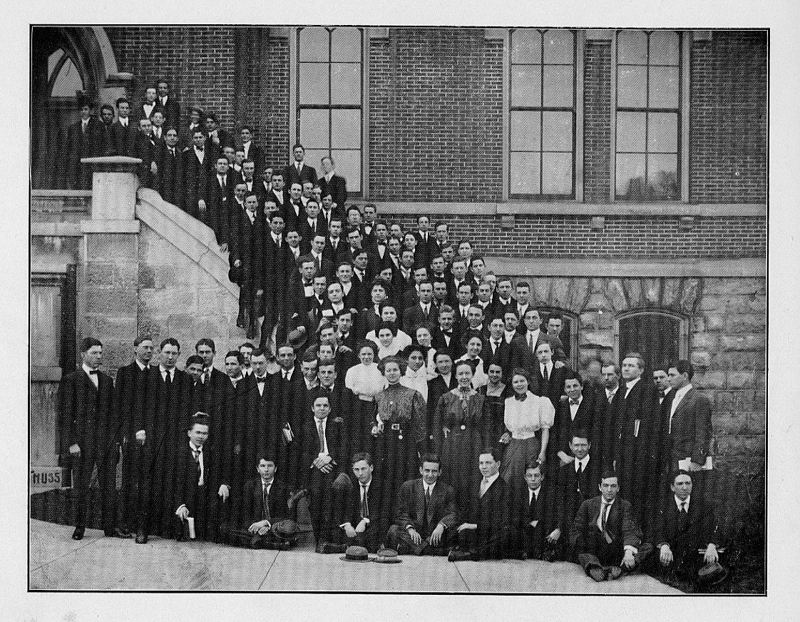 Class of 1912, Freshman Year