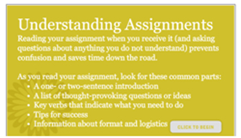Understanding Assignments