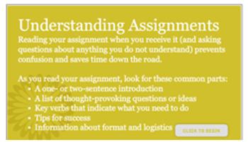 Understanding Assignments