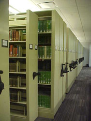 Benedictine Library - Lower Level Book Stacks