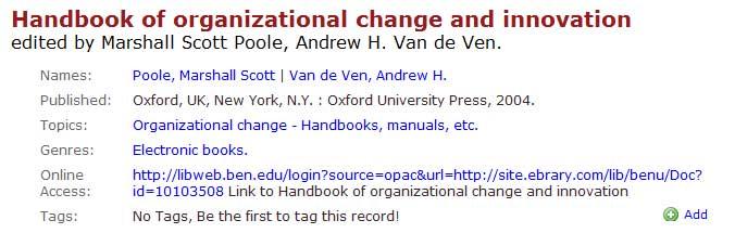 E-book citation