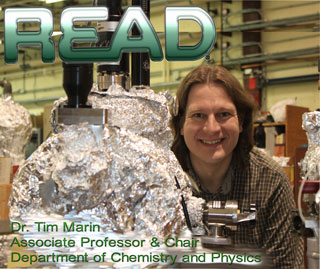 Dr. Tim Marin's READ Poster