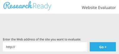 Website Evaluator