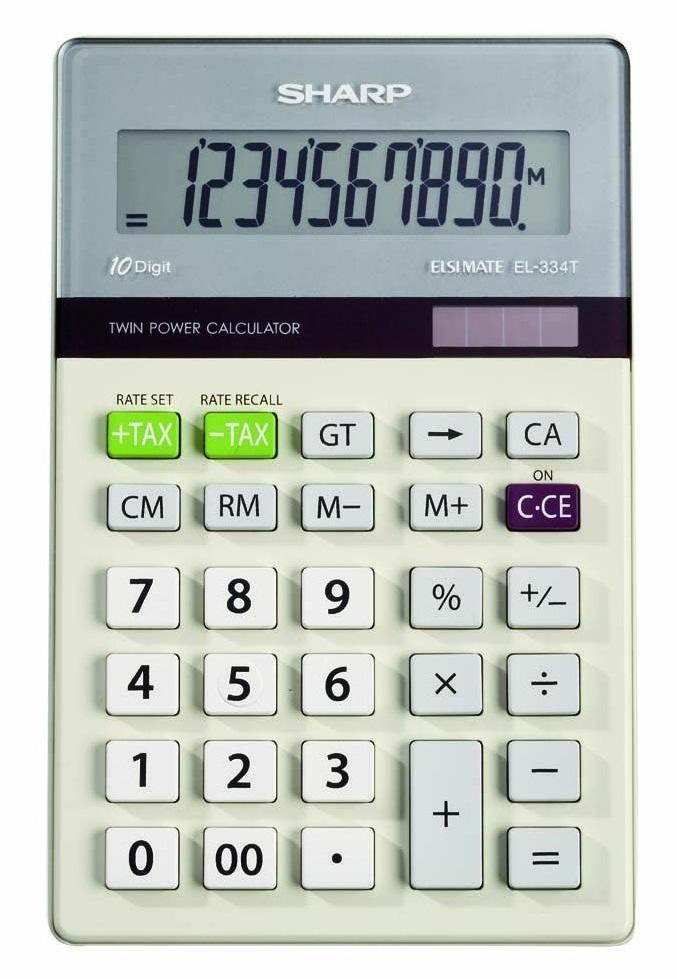 Sharp basic calculator