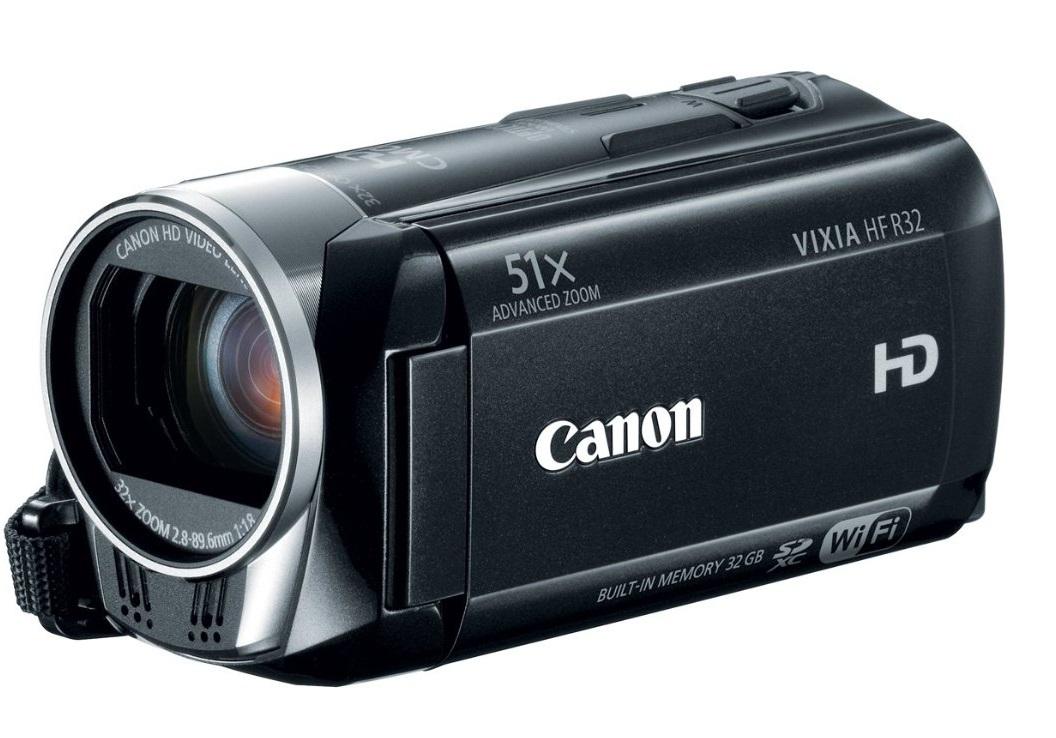 Image of a Canon Vixia HF R32 Camcorder