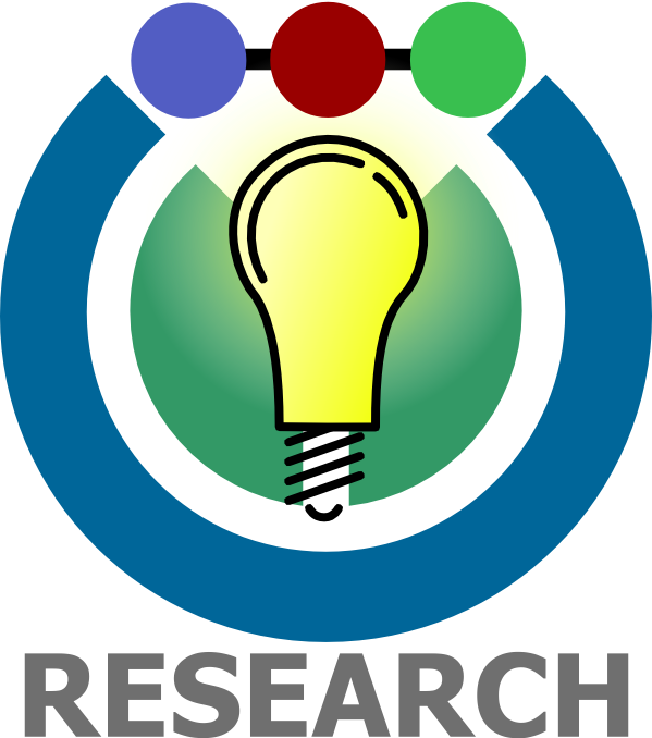 Image of light bulb of research