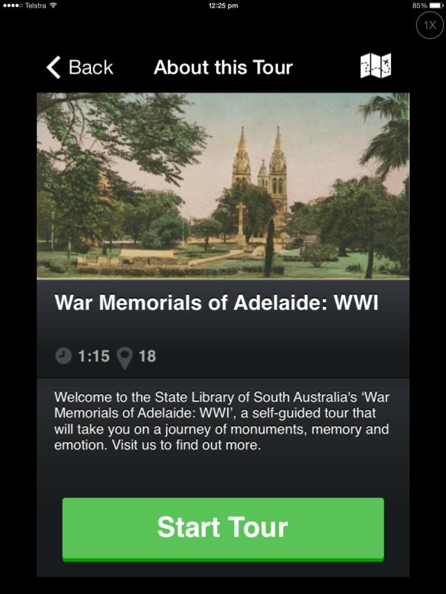 War memorials walking tour