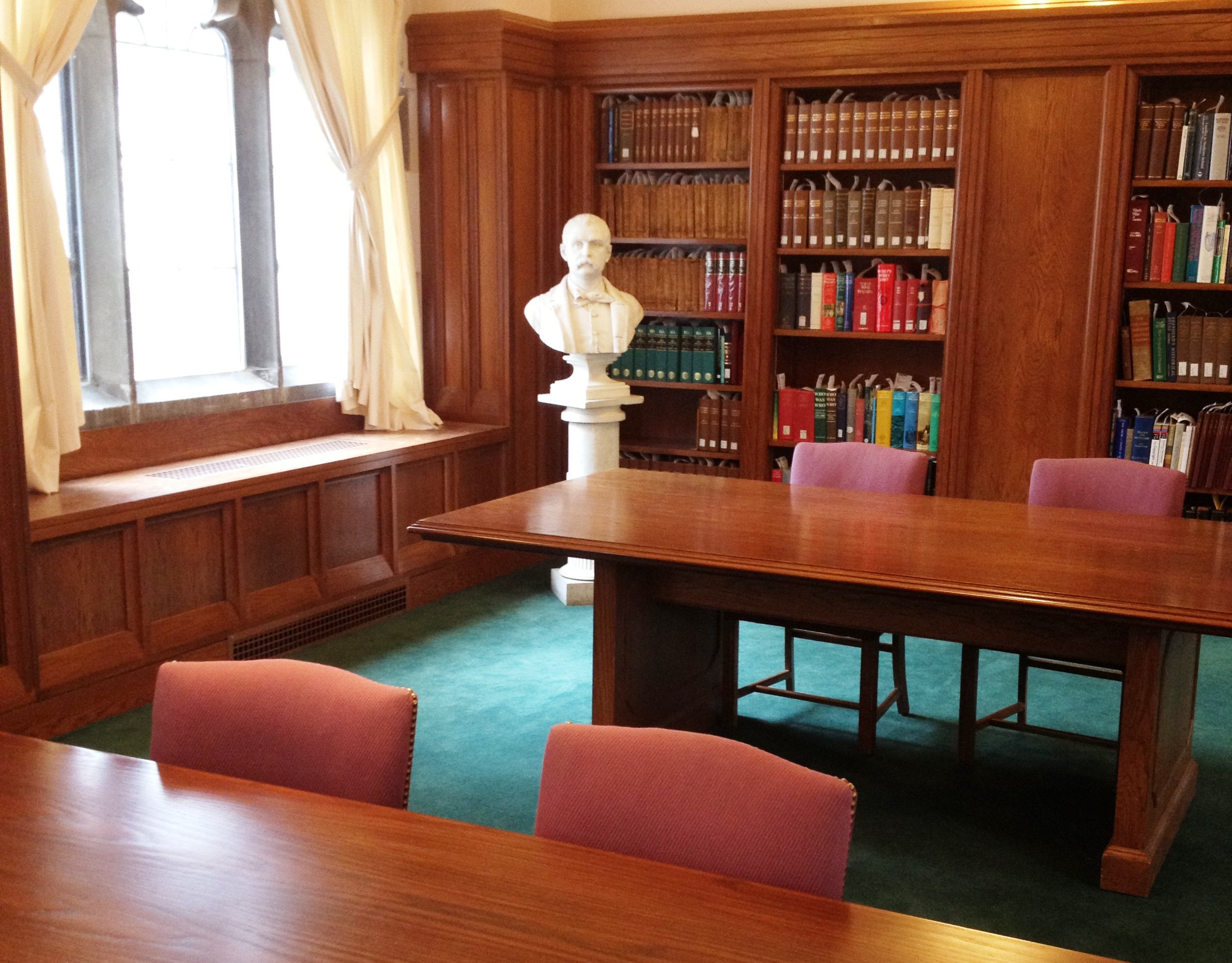 Burns Library Reading Room