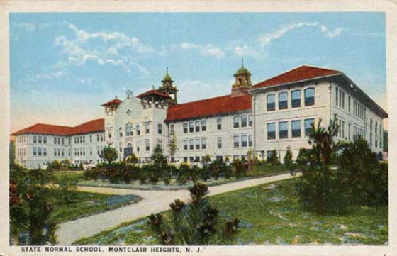 Postcard of College Hall