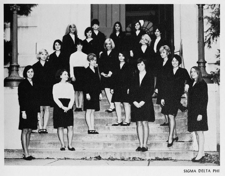 Sigma Delta Phi Sorority, 1968